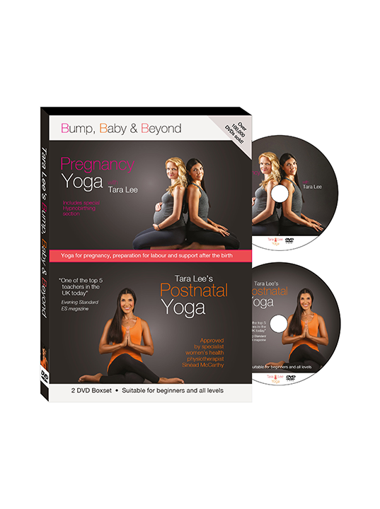 Bump, Baby and Beyond: Pregnancy Yoga and Postnatal Yoga with Tara Lee (2-disc boxset)